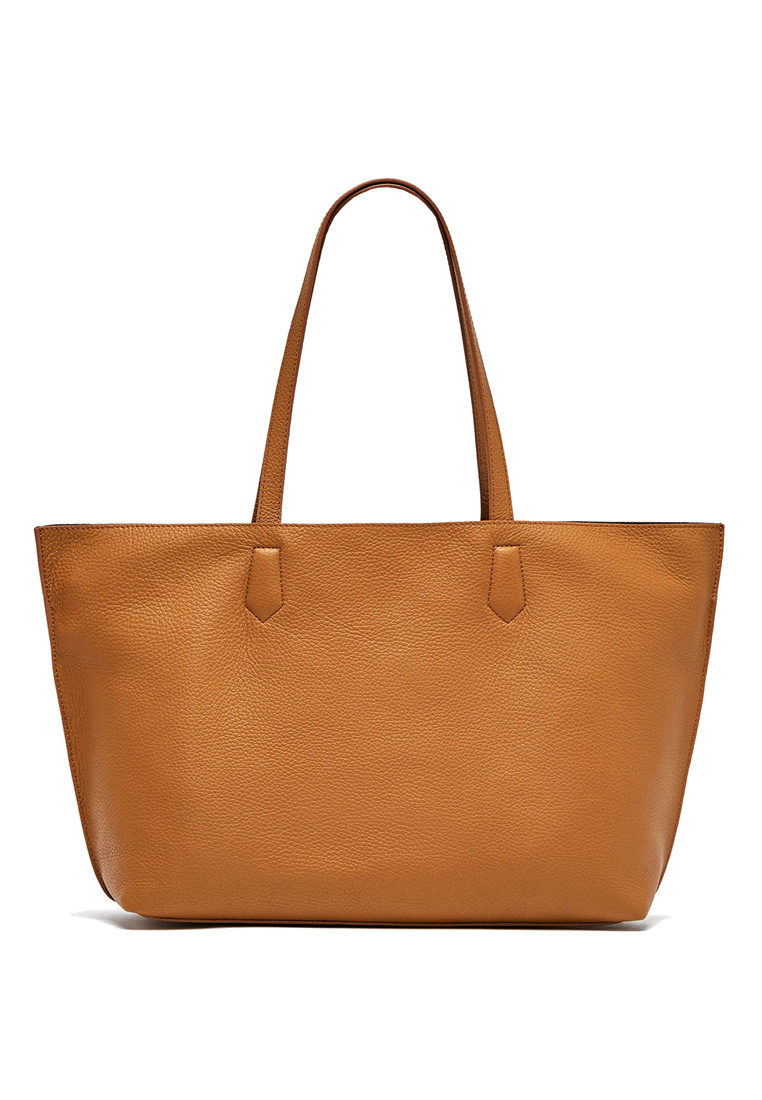 Large two-tone tote 1