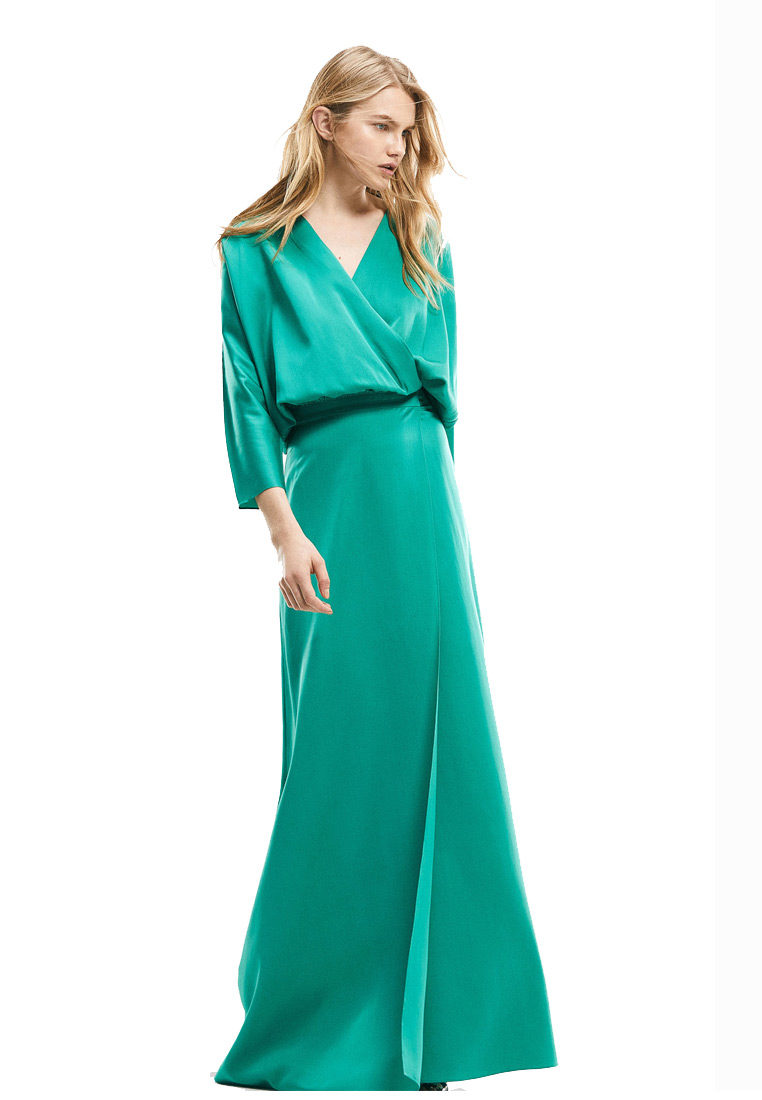 Weave Turquoise Dress 1